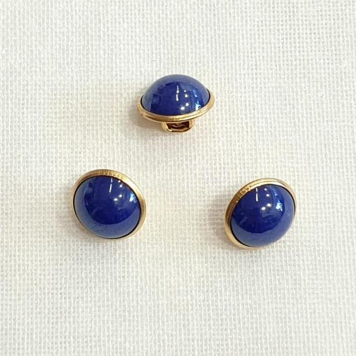 Boton Fantasia Perla - Azul