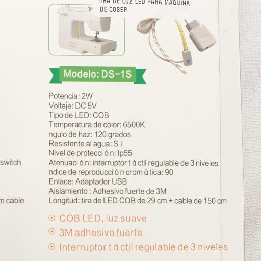 Tira de Luz Led para Maquina de Coser [1]