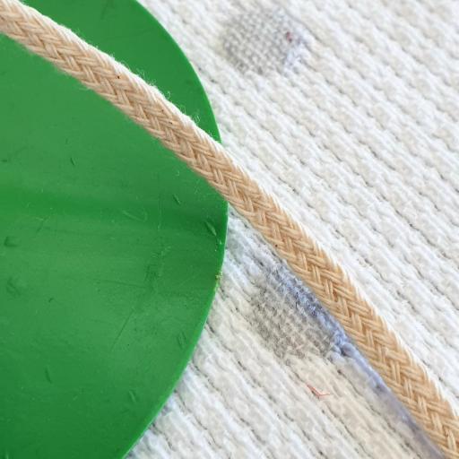 Cordón Algodón semi-plano 3mm Crudo [0]