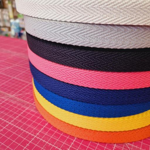 Cinta de mochila 2cm - Colores Variados
