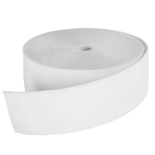 Goma Plana Suave 40mm blanca