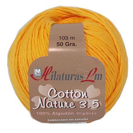 Cotton Nature 3.5 - Ovillo 50gr - Yema 4239