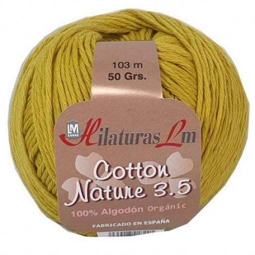 Cotton Nature 3.5 - Ovillo 50gr - Miel 4240