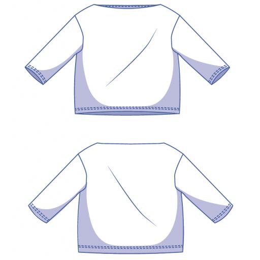 Patrón Camiseta Afra - Fibre Mood [1]