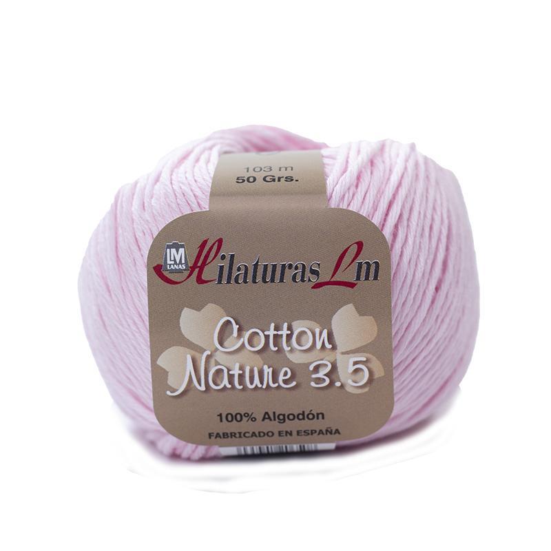 Cotton Nature 3.5 - Ovillo 50gr - Rosa bebe 4105