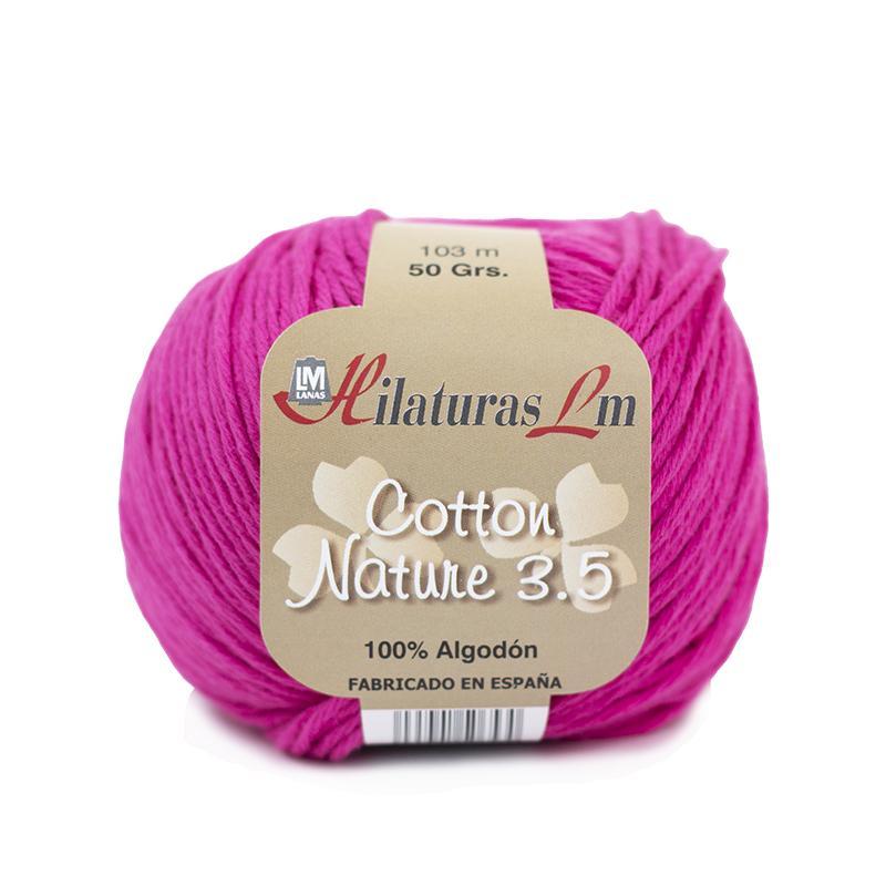 Cotton Nature 3.5 - Ovillo 50gr - Fucsia 4108