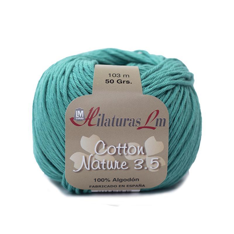 Cotton Nature 3.5 - Ovillo 50gr - Verde Quirofano 4237