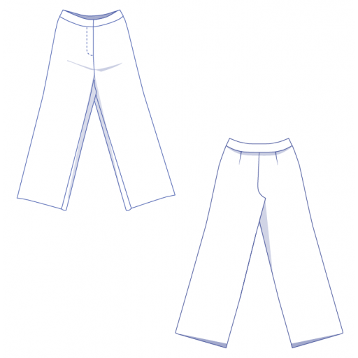 Patrón Pantalones Bertha - Fibre Mood [3]