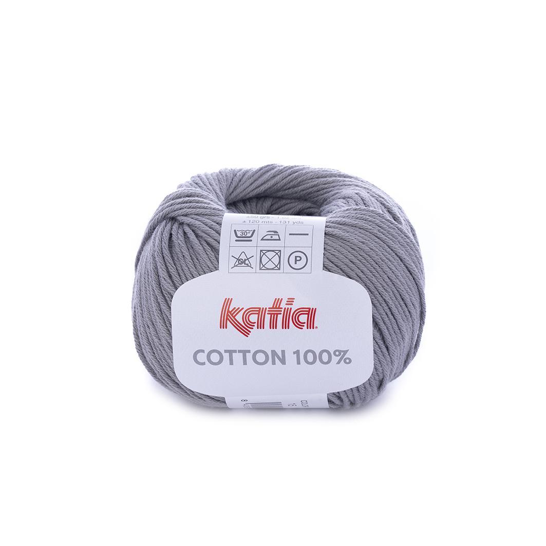 Katia - Cotton 100% - Gris Medio 15