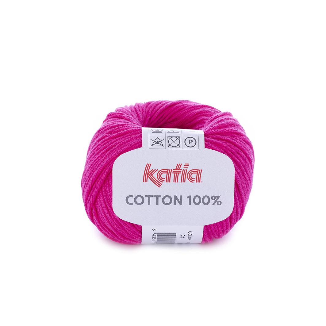 Katia - Cotton 100% - Fucsia 24