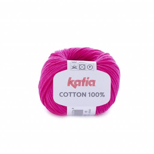 Katia - Cotton 100% - Fucsia 24 [0]