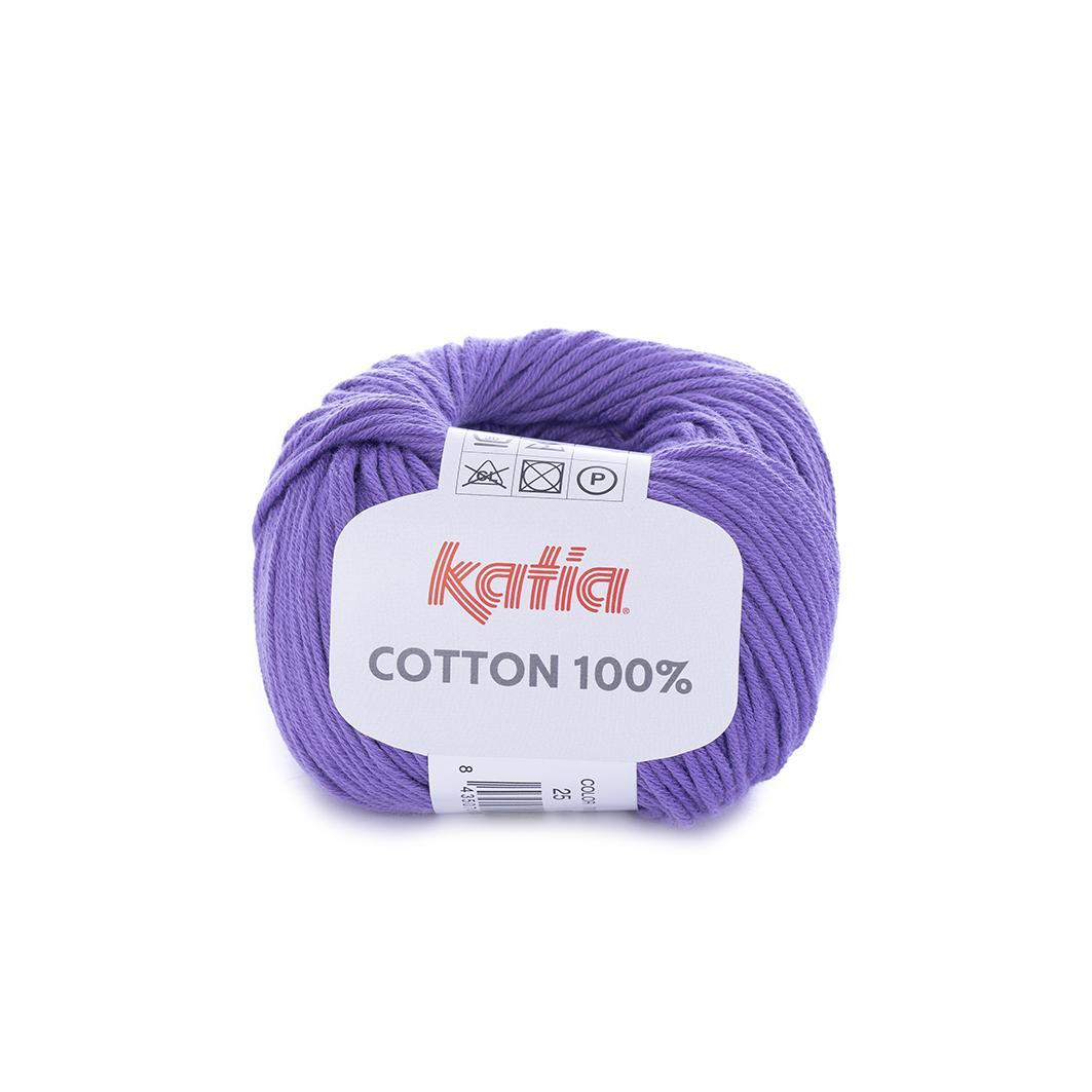Katia - Cotton 100% - Morado 25