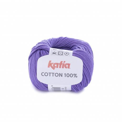 Katia - Cotton 100% - Morado 25 [0]
