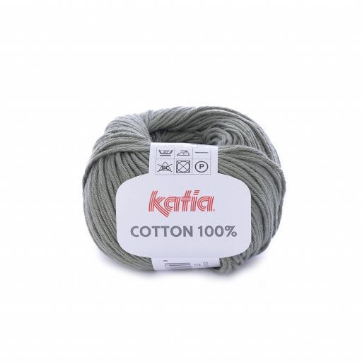 Katia - Cotton 100% - Verde Militar 27