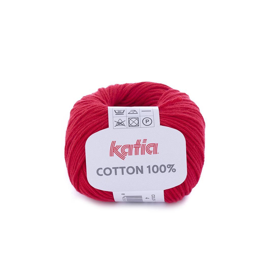 Katia - Cotton 100% - Rojo 4