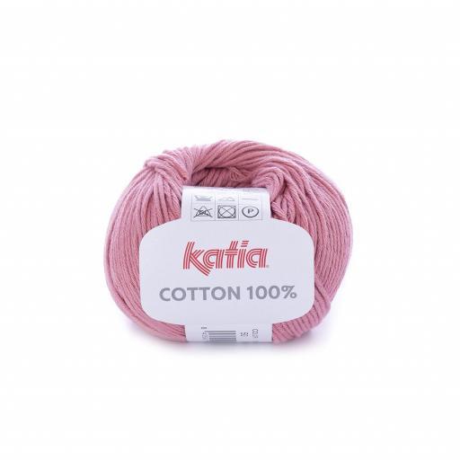 Katia - Cotton 100% - Salmón Rosado 50