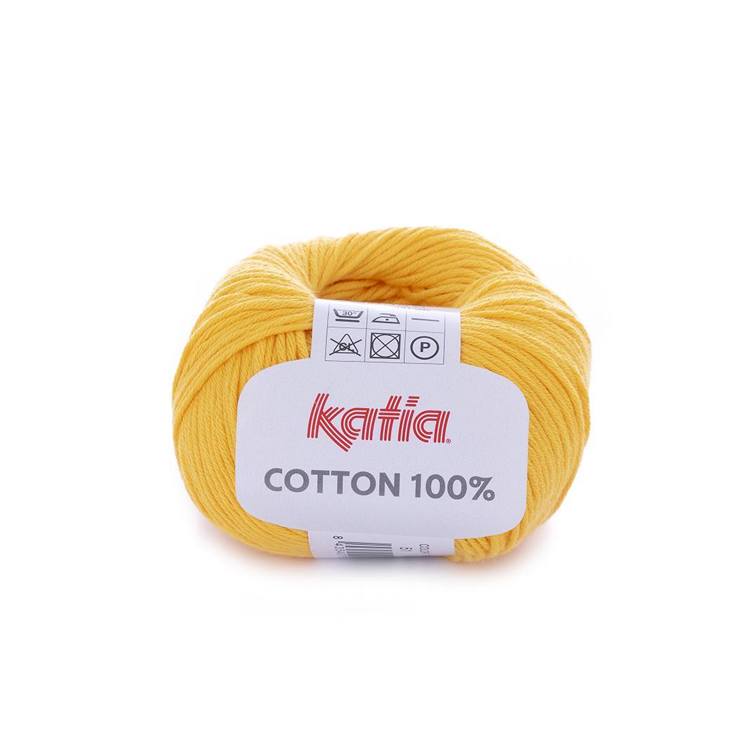 Katia - Cotton 100% - Amarillo 51