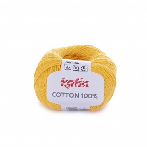 Katia - Cotton 100% - Amarillo 51