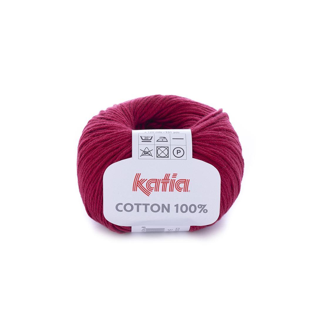 Katia - Cotton 100% - Granate 54