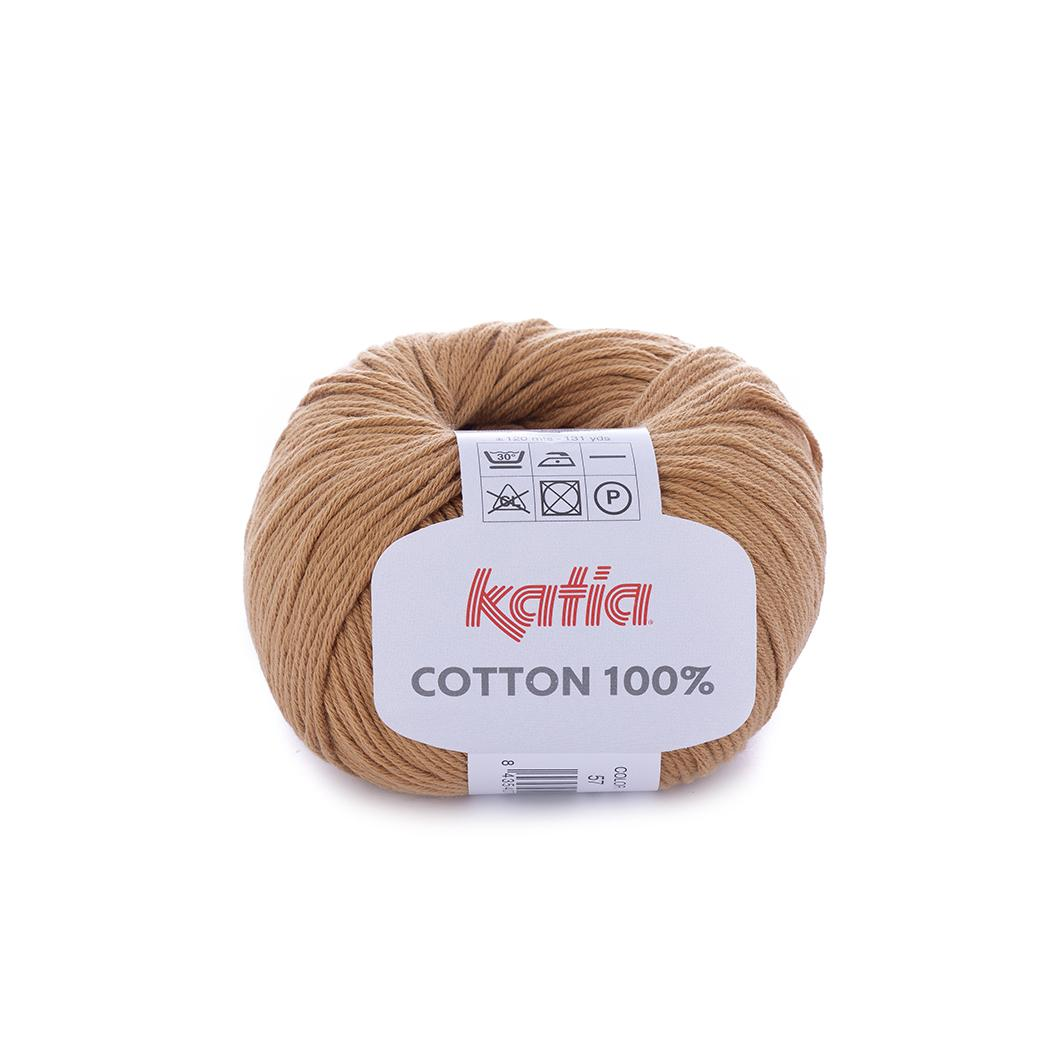 Katia - Cotton 100% - Marrón Claro 57