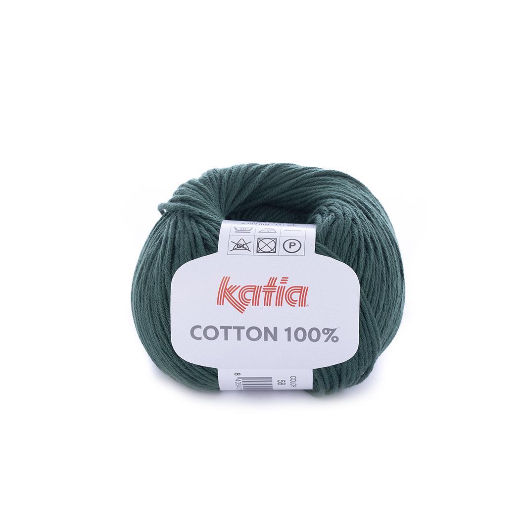 Katia - Cotton 100% - Verde Bosque 58