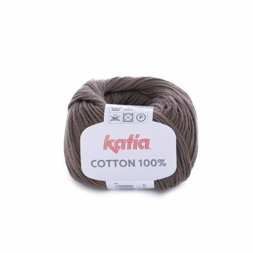 Katia - Cotton 100% - Marrón Oscuro 9