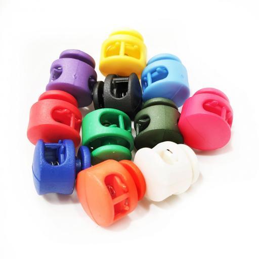 Cierres de colores para cordón