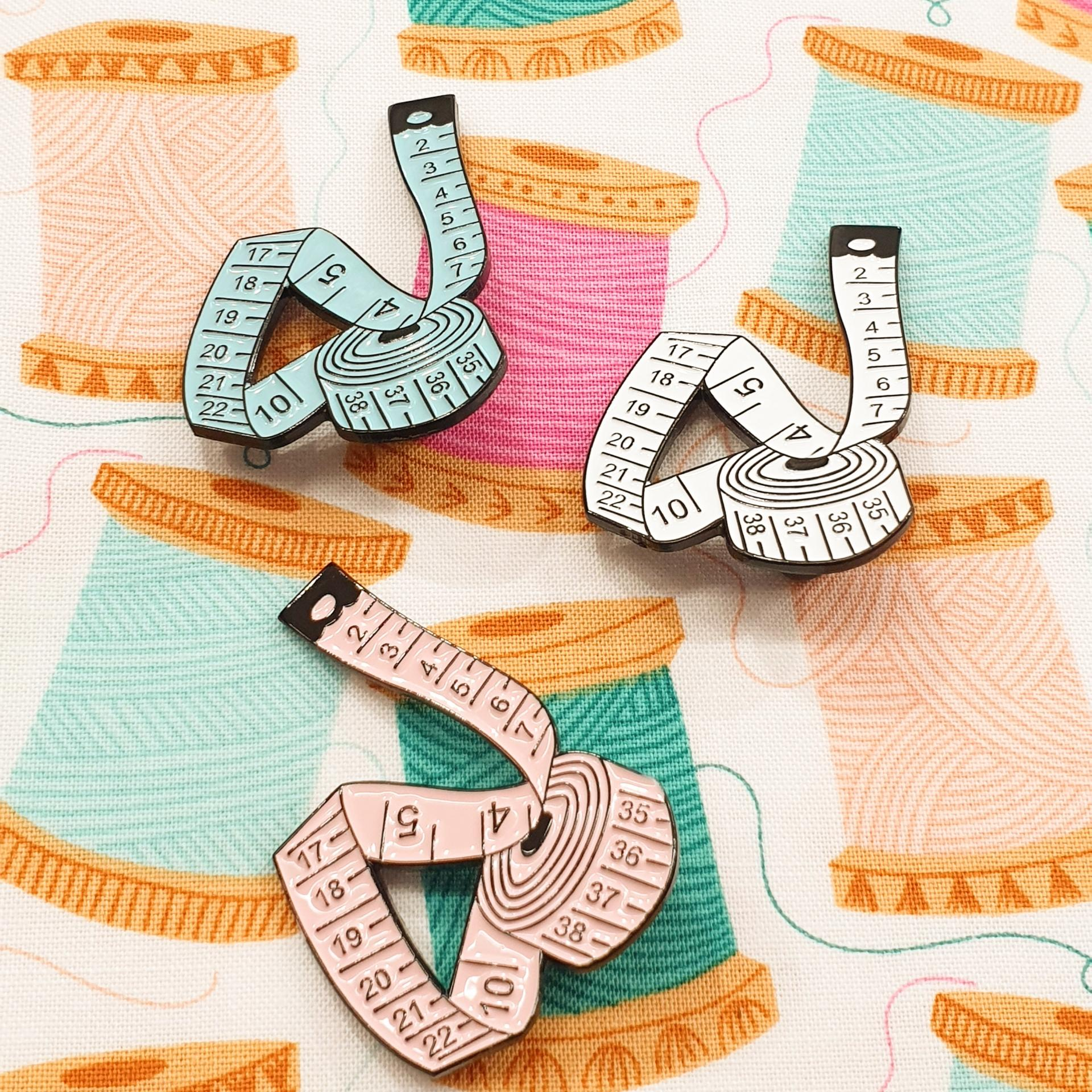 Pins de costura - Cintas métricas
