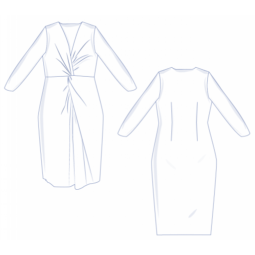 Patrón Vestido Kamille - Fibre Mood [3]