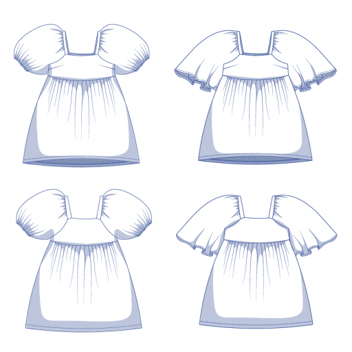 Patrón Vestido Mindy - Fibre Mood [3]