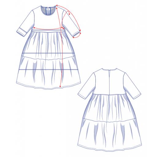 Patrón Vestido Mira - Fibre Mood [3]