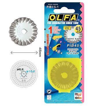 Recambio Cuchilla Rotativa 45mm Dentada - OLFA