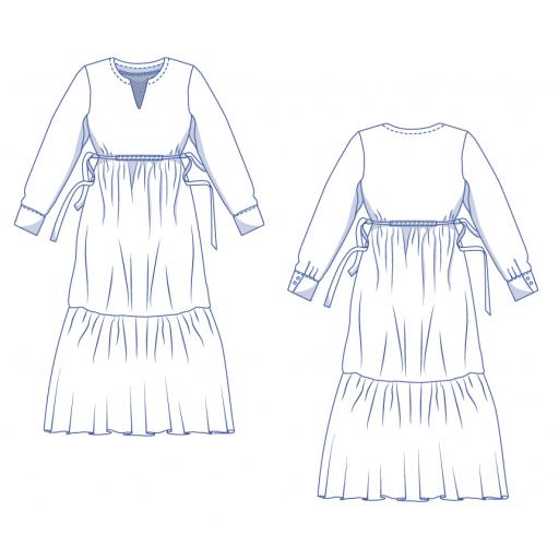 Patrón Vestido Pola - Fibre Mood [3]
