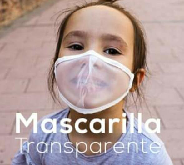 Mascarilla Transparente Homologada Viroblock
