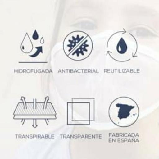 Mascarilla Transparente Homologada Viroblock [2]