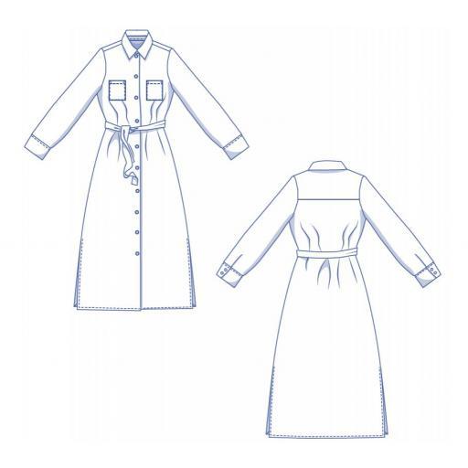 Patrón Vestido Susan - Fibre Mood [3]