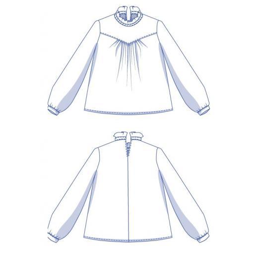 Patrón Blusa Victoria - Fibre Mood [3]