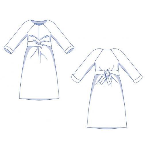 Patrón Vestido Willa - Fibre Mood [3]