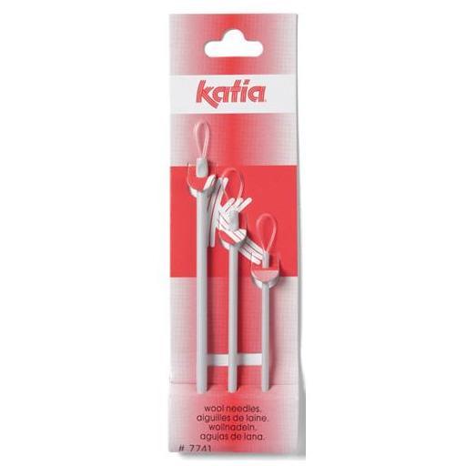 Katia - Set 3 agujas laneras