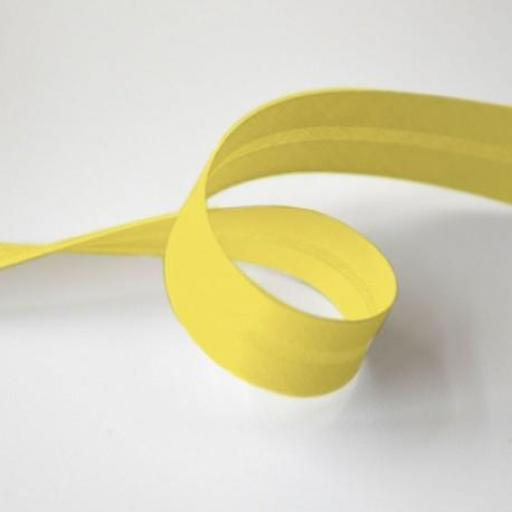 Bies de Algodón 1,8cm - Amarillo Limón 5