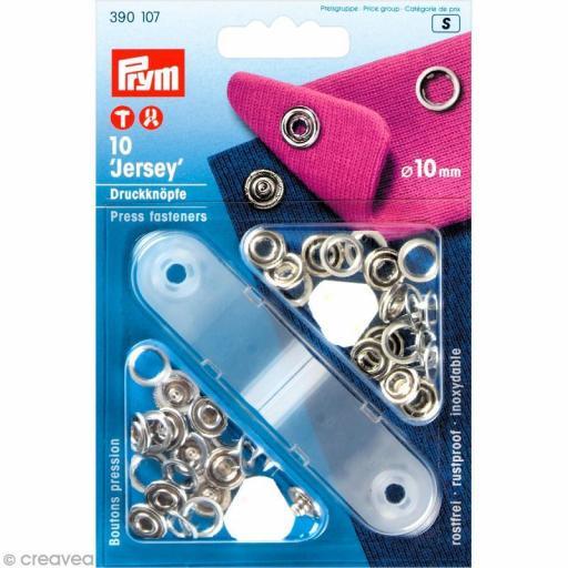 Kit Botones 10mm Prym para Jersey - Punto