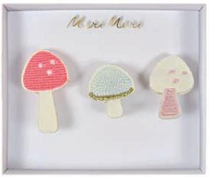 Pack Broches Mushrooms