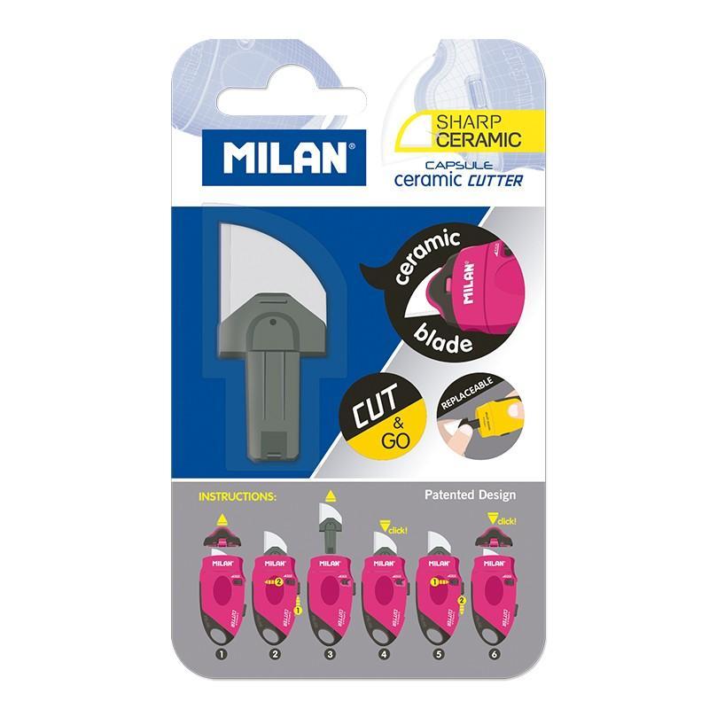 Milan - Capsule Cutter - Cuchilla Recambio Ceramica