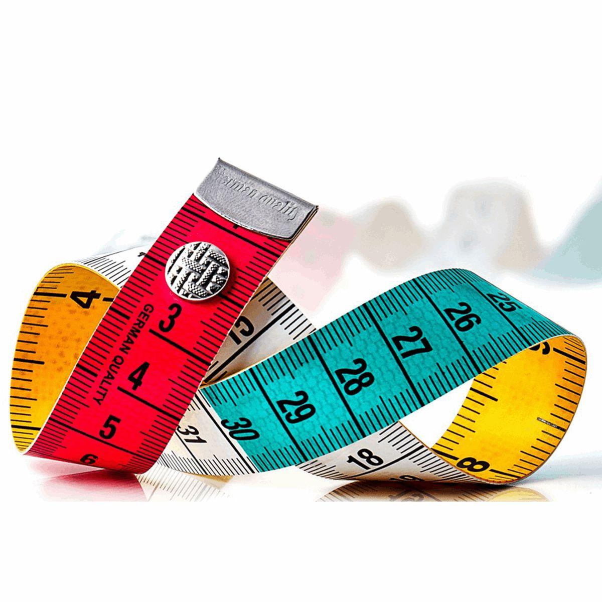 Cinta métrica Profesional de Sastre Tri-Color
