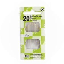 Agujas Largas Kit de 20 AG2