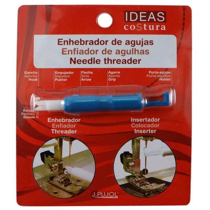 Enhebrador Insertador Agujas Maquina de coser