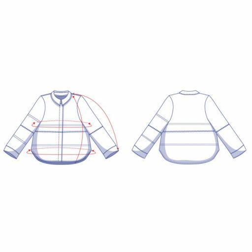Patrón Camisa Isra - Fibre Mood [3]