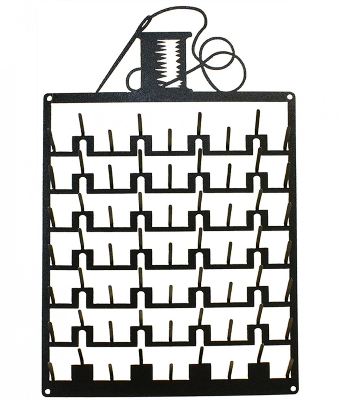 Organizador Pared Metálico Hilos - 69 bobinas