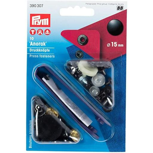 Kit Botones Prym para Chaqueta 12mm [0]