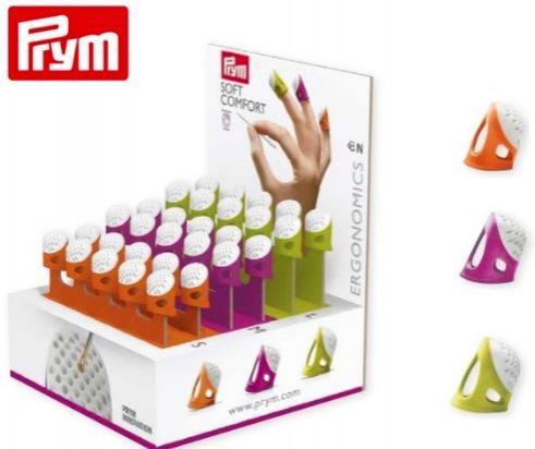 PRYM Dedal Ergonómico 4 tallas 4 colores
